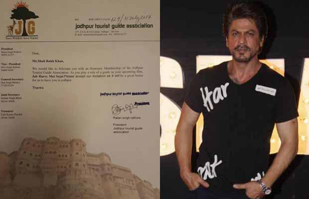 Shah Rukh Khan To Receive Honorary Membership From Jodhpur Guide Association