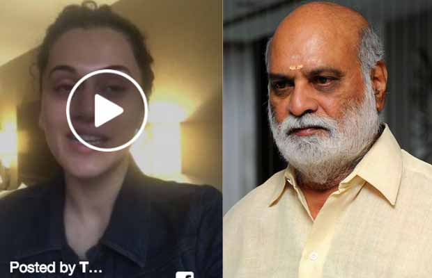Watch: Taapsee Pannu Apologises For Her Comment On Director K Raghavendra Rao