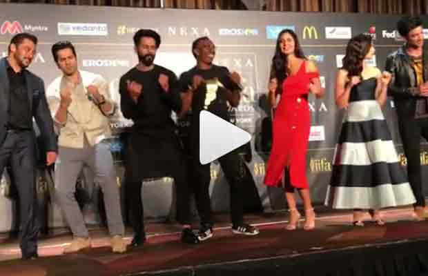 IIFA 2017: Salman Khan, Katrina Kaif Dance With DJ Bravo On Champion Song-Watch Video