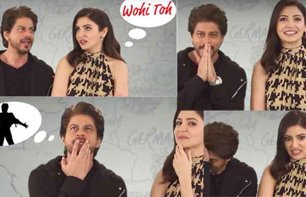 Watch: Shah Rukh Khan-Anushka Sharma's Quirky Chemistry In Jab Harry Met Sejal Rapid Fire Question
