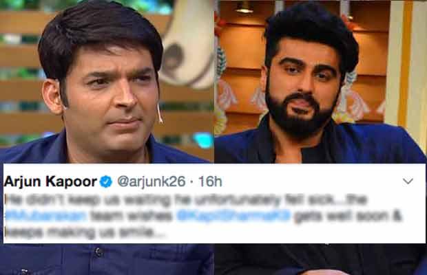 Arjun Kapoor Speaks Up On Kapil Sharma Keeping Him Waiting For Hours!
