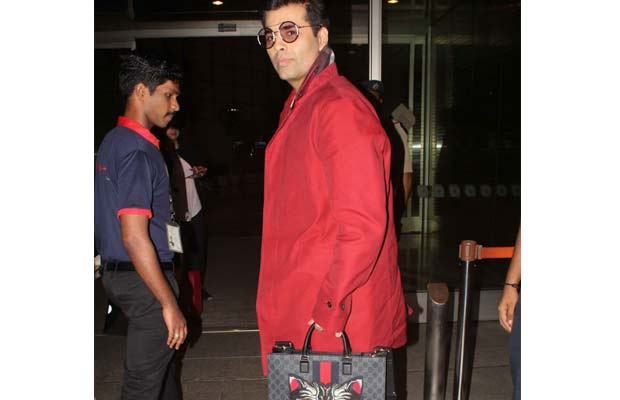 The Cost Of Karan Johar's Expensive Gucci Bag Is Not So Shocking!