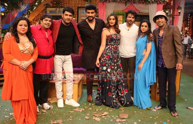 Photos: Amid Rumours Of Depression, Kapil Sharma Finally Shot For A New Episode With Mubarakan Team!