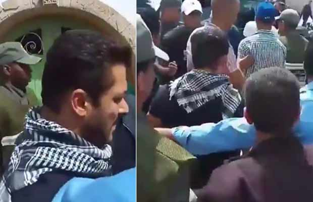 Watch: Salman Khan Fans Go Berserk On The Sets Of Tiger Zinda Hai In Morocco!