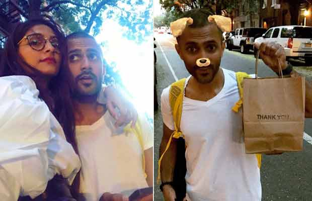 Watch: Sonam Kapoor's Birthday Gift To Alleged Beau Anand Ahuja And He's LOVING It!