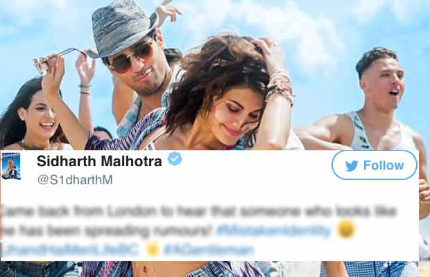 Sidharth Malhotra Unhappy With A Gentleman With Jacqueline Fernandez? Actor Reacts!