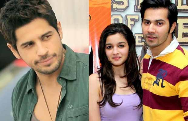 Sidharth Malhotra Reveals He Doesn't Waste Time On Alia Bhatt Or Varun Dhawan