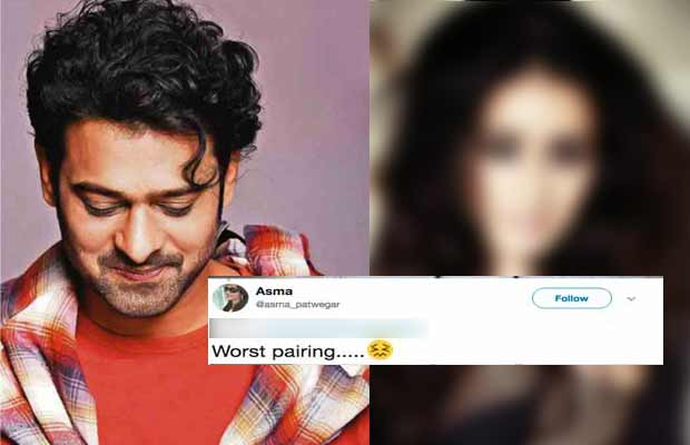 Guess Who Will Star Opposite Prabhas In Saaho? Twitterati Not Happy!