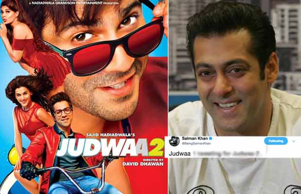 Here's What Salman Khan Has To Say About Varun Dhawan's Judwaa 2 Trailer!