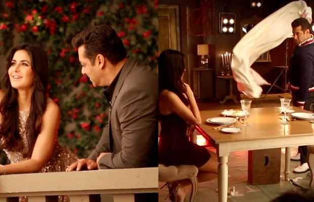 Salman Khan And Katrina Kaif's Chemistry Looks Smoking HOT In This Behind The Scenes Video!