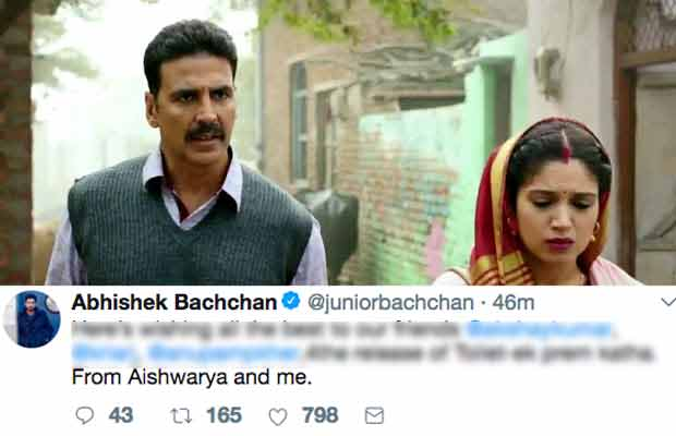 Toilet: Ek Prem Katha Celeb Review: Bollywood Reacts To Akshay Kumar-Bhumi Pednekar Starrer Film