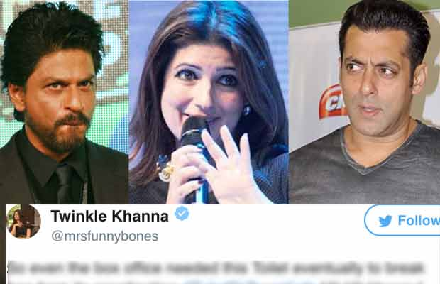 Oops! Twinkle Khanna Mocks Salman Khan's Tubelight And Shah Rukh Khan's Jab Harry Met Sejal With This Tweet?