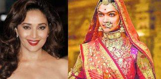 Madhuri Dixit Deepika Padukone Ghoomar