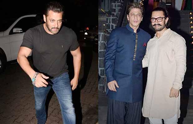 Salman Khan Aamir Khan Shah Rukh Khan