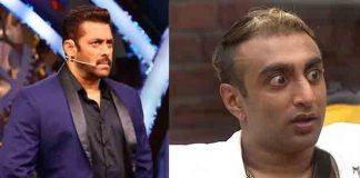 Salman Khan Akash Dadlani Bigg Boss 11