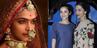 Alia Bhatt: Deepika Padukone As Padmavati Is So Fabulous And I know I can Never Look Like That Or Act Like That
