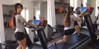 fatima sana shaikh workout