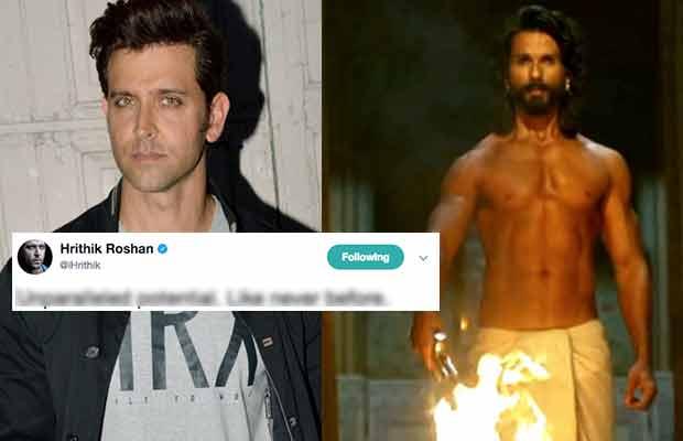 Hrithik Roshan And Shahid Kapoor Shared Twitter Banter Over Padmavati Trailer