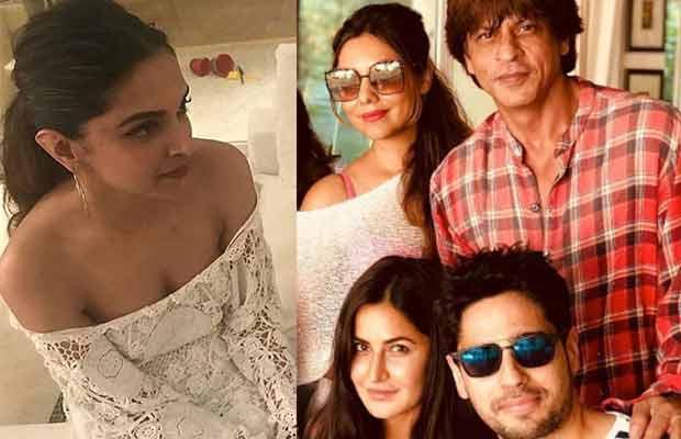 Here's What Happened When Deepika Padukone And Katrina Kaif Came Under The Same Roof At Shah Rukh Khan's Birthday Bash!