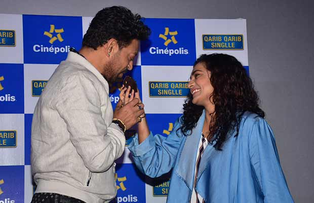 Irrfan Khan And Parvathy Visit A Theater For Live Reactions