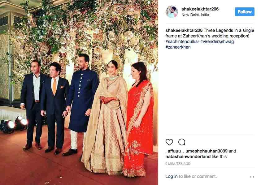 Zaheer Khan sagarika ghatge 1