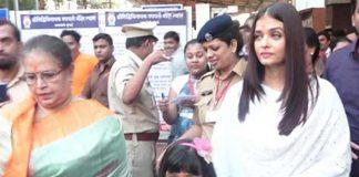 Watch: Aishwarya Rai Bachchan Visits Siddhivinayak With Daughter Aaradhya On Her Birthday