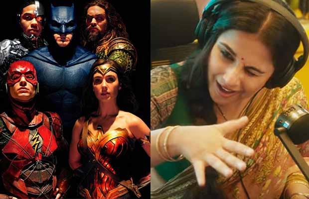 Box Office: Justice League Vs Vidya Balan's Tumhari Sulu First Monday Business!