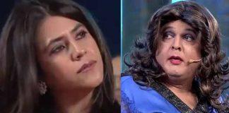 Ali Asgar imitates Ekta Kapoor
