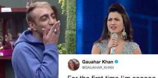 Bigg Boss 11: Gauahar Khan Is Angry At Akash Dadlani salman khan