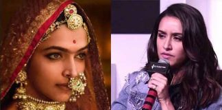 Padmavati: Shraddha Kapoor Reacts On The Protests Against Deepika Padukone's Film