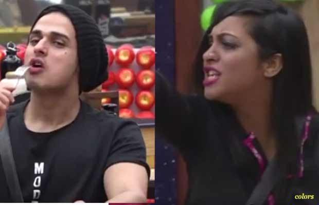 Bigg Boss 11: Priyank Sharma And Arshi Khan Get Into Ugly Fight Like Never Before- Watch Video