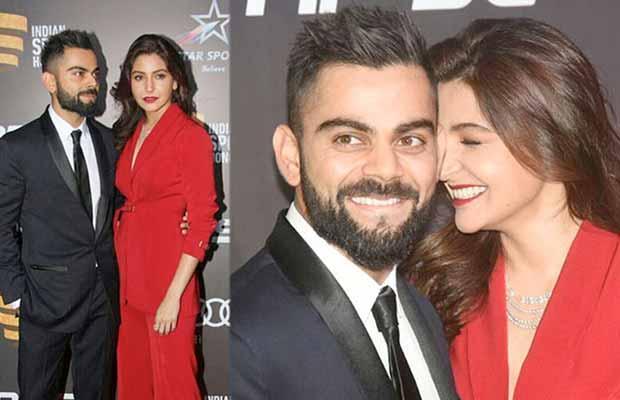 WATCH: Virat Kohli And Anushka Sharma Steal The Show At Indian Sports Honour Awards