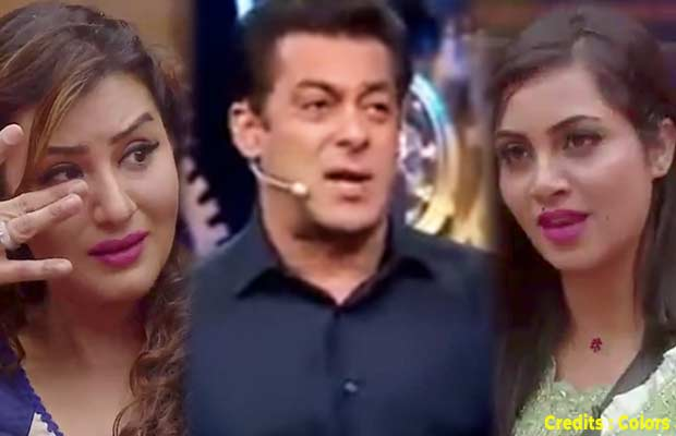 Bigg Boss 11: Arshi Khan Misbehaves And Calls Salman Khan Biased Towards Shilpa Shinde,Twitter REACTS!