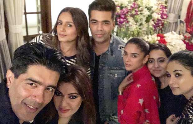 Inside Photos: Karan Johar, Sonakshi Sinha And Others Celebrate Manish Malhotra's Birthday!