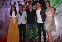Neeraj Pandey, Manoj Bajpayee And Sidharth Malhotra Along With The Makers Unveiled Aiyaary trailer