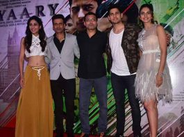 Neeraj Pandey, Manoj Bajpayee And Sidharth Malhotra Along With The Makers Unveiled Aiyaary trailer