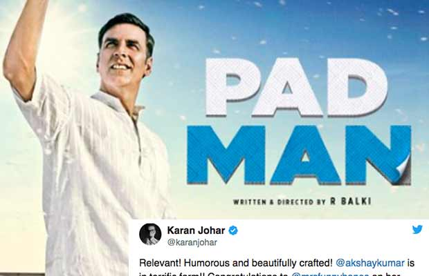 Bollywood Celebs React To Akshay Kumar Starrer Pad Man Trailer