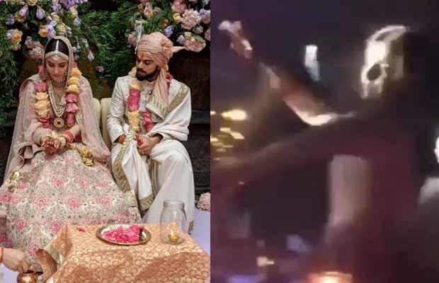 anushka shama virat kohli wedding dance