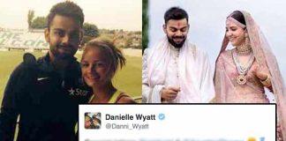 anushka sharma virat kohli Danielle Wyatt