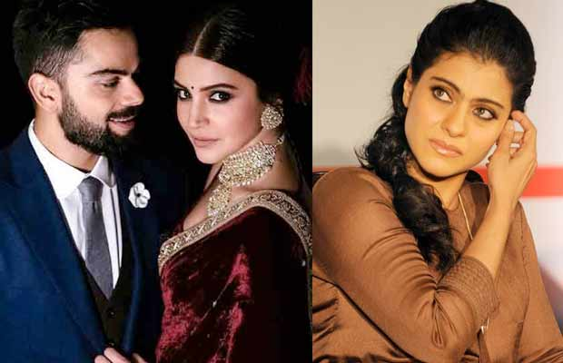 df41c350253 Virat Kohli – Anushka Sharma Wedding  Kajol Does Not Approve Of Virushka!