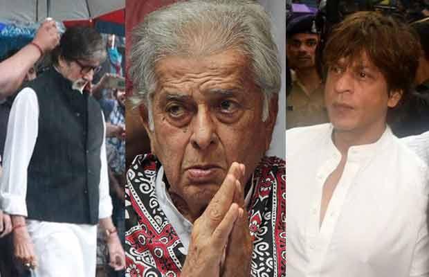 Photos: Shah Rukh Khan, Ranbir Kapoor, Amitabh Bachchan And Others Arrive At Shashi Kapoor's Funeral