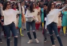 Watch: Sushmita Sen's Video Dancing With College Students Is Going Viral!