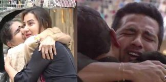 Bigg Boss 11: Housemates Turn Emotional As Shilpa Shinde's Mother And Puneesh Sharma's Father Enter The House!