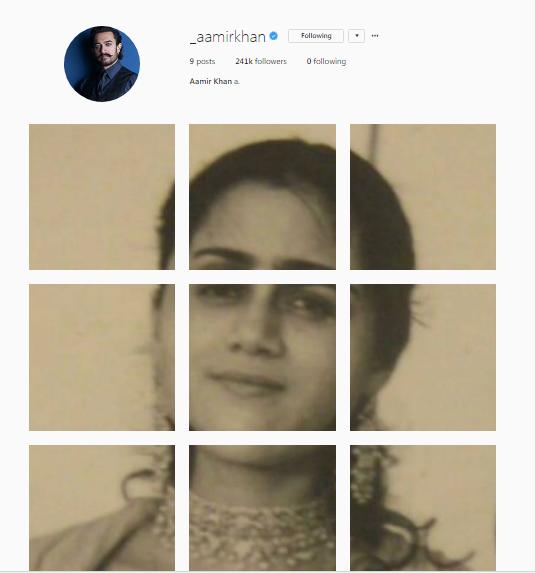 aamir khan instagram debut