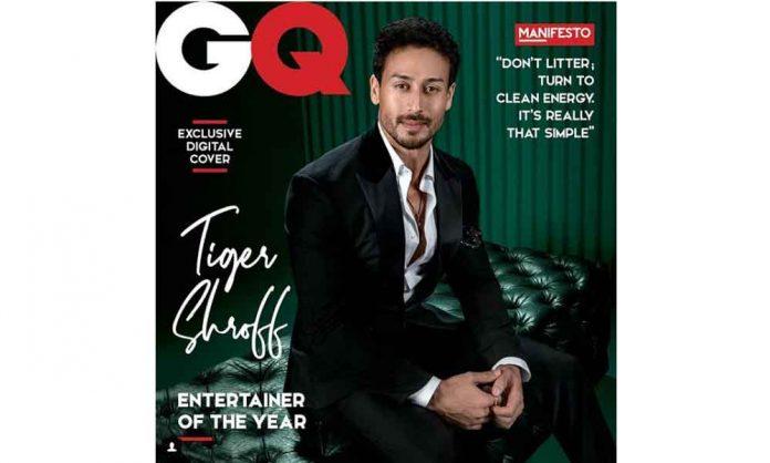 Tiger Shroff GQ Awards
