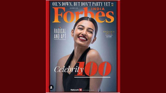 forbes magazine radhika apte